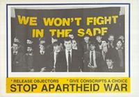 We won't fight in the SADF