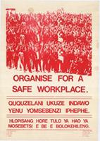 Organise for a safe workplace