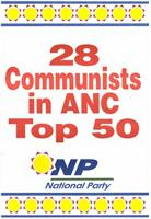 28 communists in ANC top 50