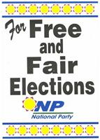For free and fair elections