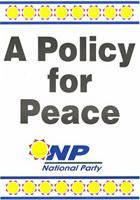 A policy for peace