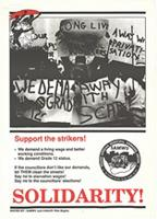 Solidarity! : support the strikers!