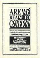 Are we ready to govern?
