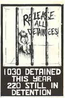 Release all detainees: 1030 detained this year 220 still in detention