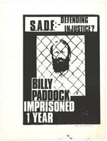 Billy Paddock: imprisoned one year
