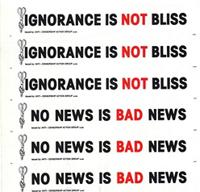 Ignorance is not bliss : no news is bad news