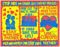 Stop aids and other sex carried diseases