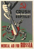 Crush the fascist reptile!: medical aid for Russia