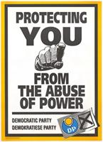 Protecting you from the abuse of power