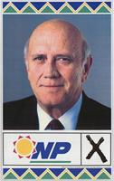National Party election poster