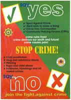 Say yes: stop crime