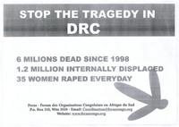 Stop the tragedy in DRC