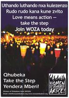 Love means action: take the step: join WOZA today