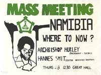 Mass Meeting: Namibia: where to now?