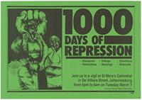 1000 days of repression