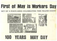 First of May is workers Day : 100 years May day