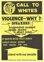 Call to whites: violence - why?