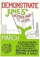 Demonstrate June 5th women's right to work