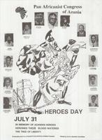 Pan Africanist Congress of Azania: July 31 Heroes Day