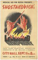 Medical aid for Russia presents ... Shostakovich's Leningrad