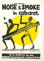 ECC presents Noise and Smoke in cabaret