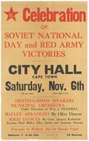 Celebration of a Soviet National Day and Red Army Victories