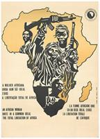 An African woman: unite in a common ideal: the total liberation of Africa
