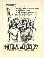 National Womens Day: August 9: 1956-1982