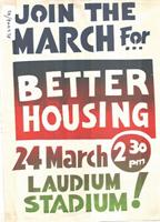 Join the march for better housing