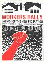 Workers Rally; Launch of the New Federation