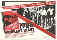 1986 worker's diary