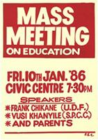 Mass meeting on education