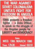 The war against Soviet colonialism: Unita's fight for freedom in Angola
