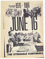 1976 - 1986: June 16: the struggle continues