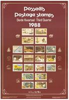 Postage stamps: third quarter 1988