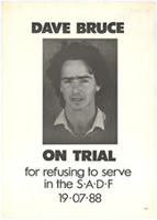 Dave Bruce on trial