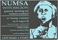NUMSA Wits Region general meeting for women workers
