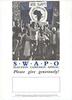 SWAPO election campaign appeal