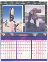 January to December 1989 EDA calendar