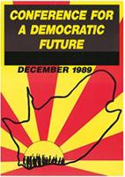 Conference for a democratic future December 1989