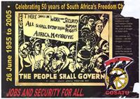 Celebrating 50 years of South Africa's Freedom Charter