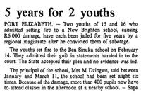 5 years for 2 youths