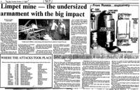 Limpet mine - the undersized armament with the big impact