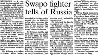 Swapo fighter tells of Russia