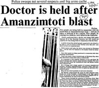 Doctor is held after Amanzimtoti blast