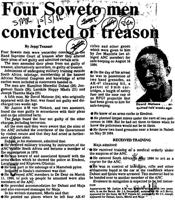 Four Soweto man convicted of treason