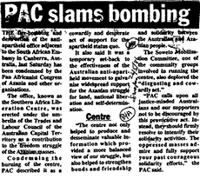 PAC slams bombing