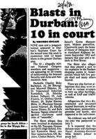Blasts in Durban: 10 in court
