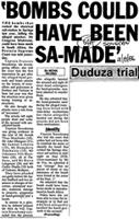 'Bombs could have been SA-made'