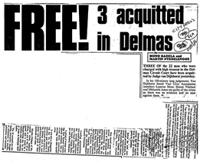 Free! 3 acquitted in Delmas